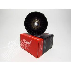 Ролик натяжной ЗМЗ 409,406 обводной ЗМЗ40904,05 Е-2,3 без кронштейна LYNX (531075910) аналог INA / PB5068