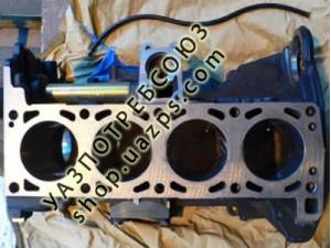 Блок двигателя ЗМЗ-514 с трубкой указателя уровня масла (Евро-3) / 5143.3906586-20