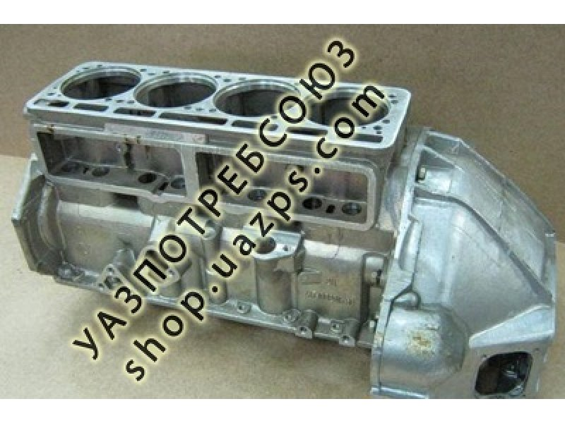 Блок двигателя УМЗ-4178 под сальник / 417-1002009-50