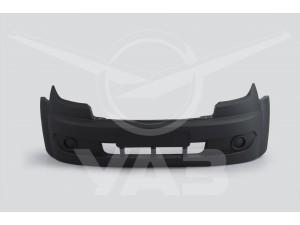 Бампер УАЗ ПРОФИ 236021/236022 передний, пластиковый (без ПТФ)  / 2360-2803015