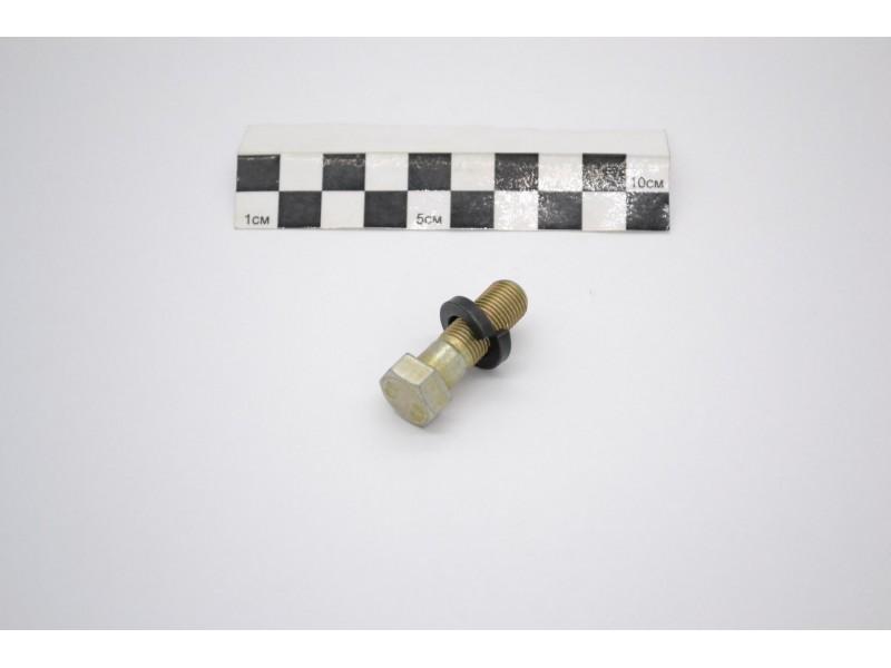 Болт М10*1*30 крепления шаровой опоры УАЗ с гровером / 290784-П29 + 252136-П2