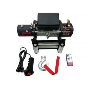 Лебедка Electric Winch 12,0 12v, 5448кг, 265:1, пульт ДУ / EW12000