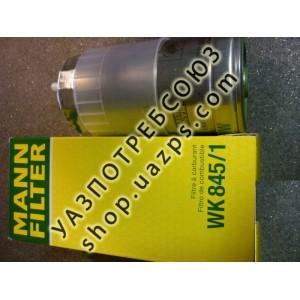 Фильтр топливный УАЗ ПАТРИОТ дв.IVECO НЕ в сборе (MANN) / WK 8451