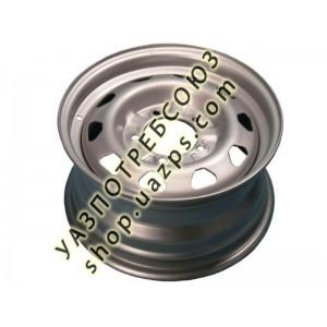 Диск колесный УАЗ штатный 6.5x16/5x139.7 D108.5 ET40 антик серебро ЗАВОД / 31622-3101015-06