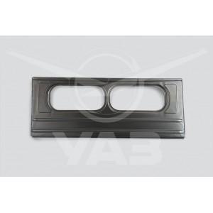 Панель  перегородки салона верхняя  УАЗ 3909 ГОЛАЯ (под 2 окна) ## / 450Д-5601014