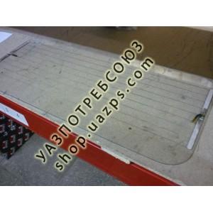 А/стекло УАЗ 469 задней двери крыши (ЗК) 1017*402 с подогревом / 469-5703030