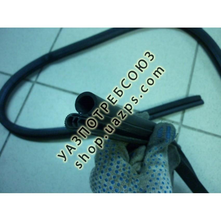 Уплотнитель дверного проема УАЗ 469 (КОРОТКИЙ, верхний) 170см. / 31514-5700070